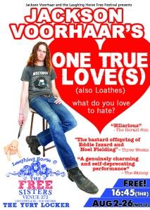 Jackson Voorhaar's One True Loves - EdFringe: 2012