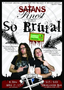 Jackson Voorhaar & Mitch Alexander - Satan's Finest present: So Brutal - MICF: 2014
