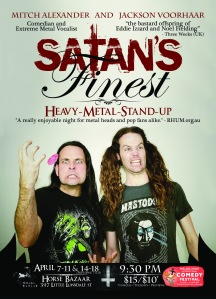 Jackson Voorhaar & Mitch Alexander - Satan's Finest - MICF: 2013