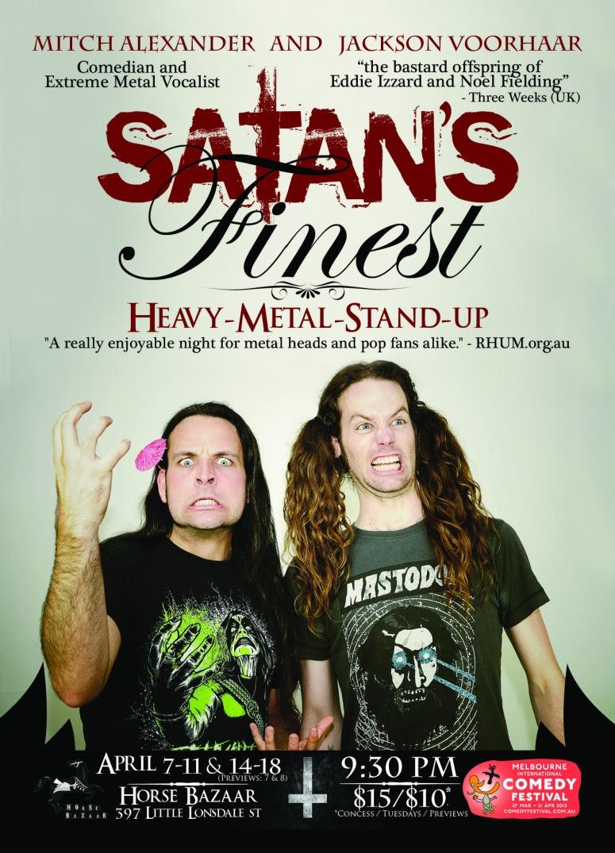 Jackson Voorhaar & Mitch Alexander - Satan's Finest - MICF - 2013
